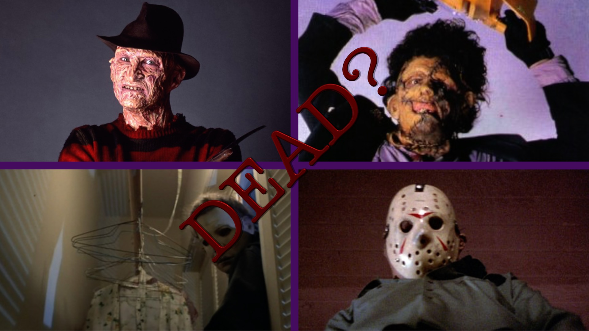 slasher, horror, halloween, film, Freddy, Leatherface