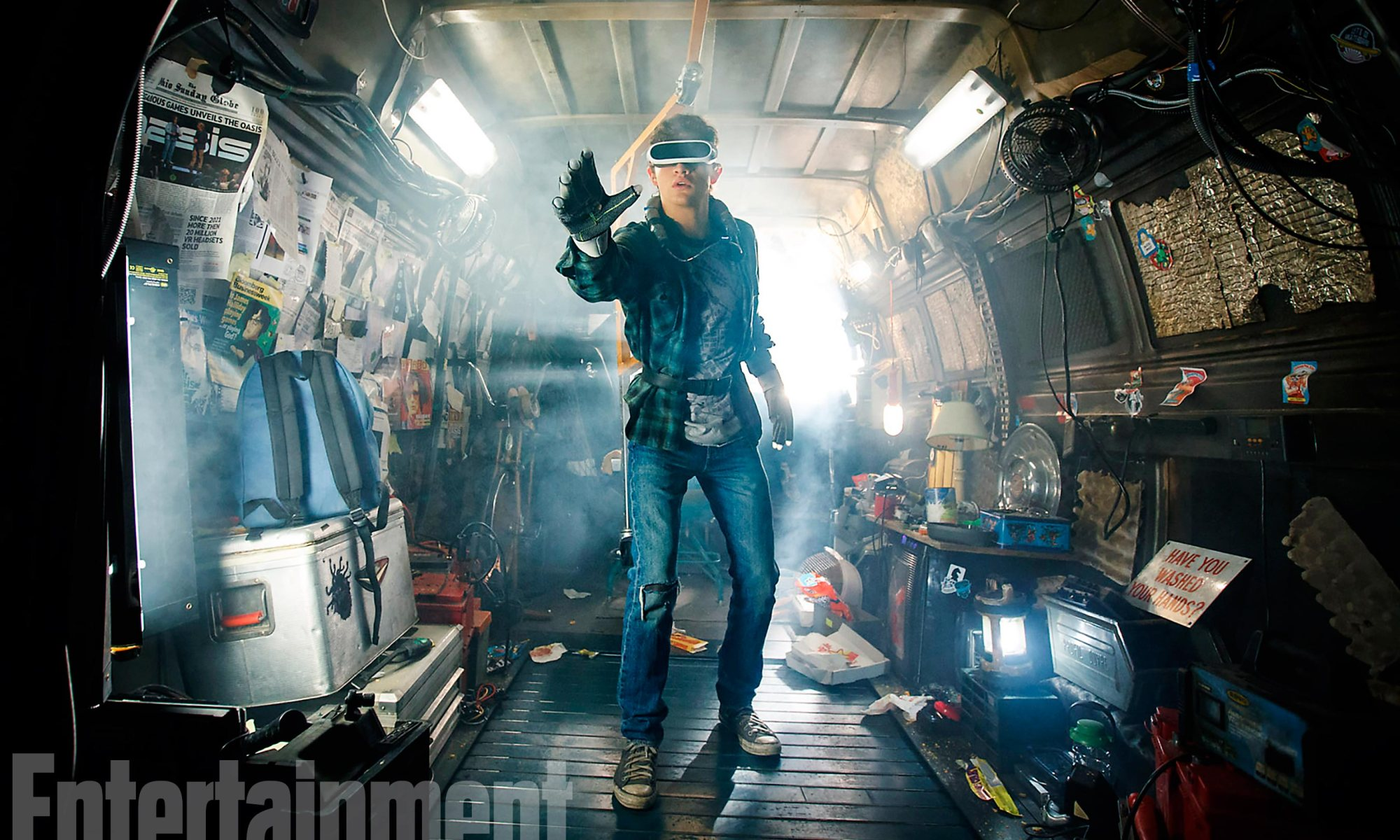 ready player one, speilberg, trailer, SDCC, movie