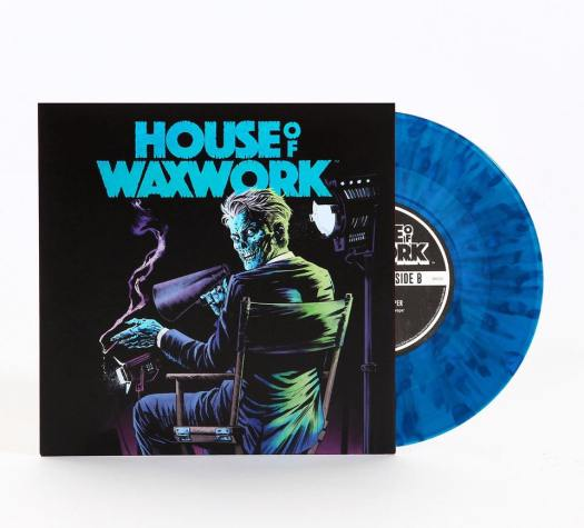 house of waxwork, horror, vinyl, comic book, waxworks records