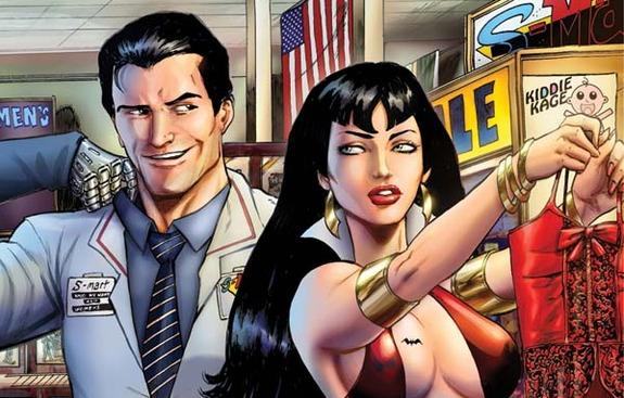 army of darkness, comic book, vamperella, dynamite comics
