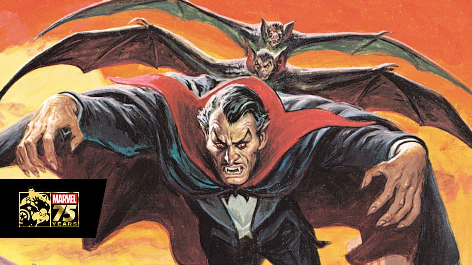 dracula, vampire, marvel, tomb of dracula
