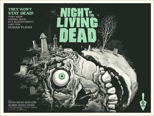 mondo, night of the living dead, poster, print