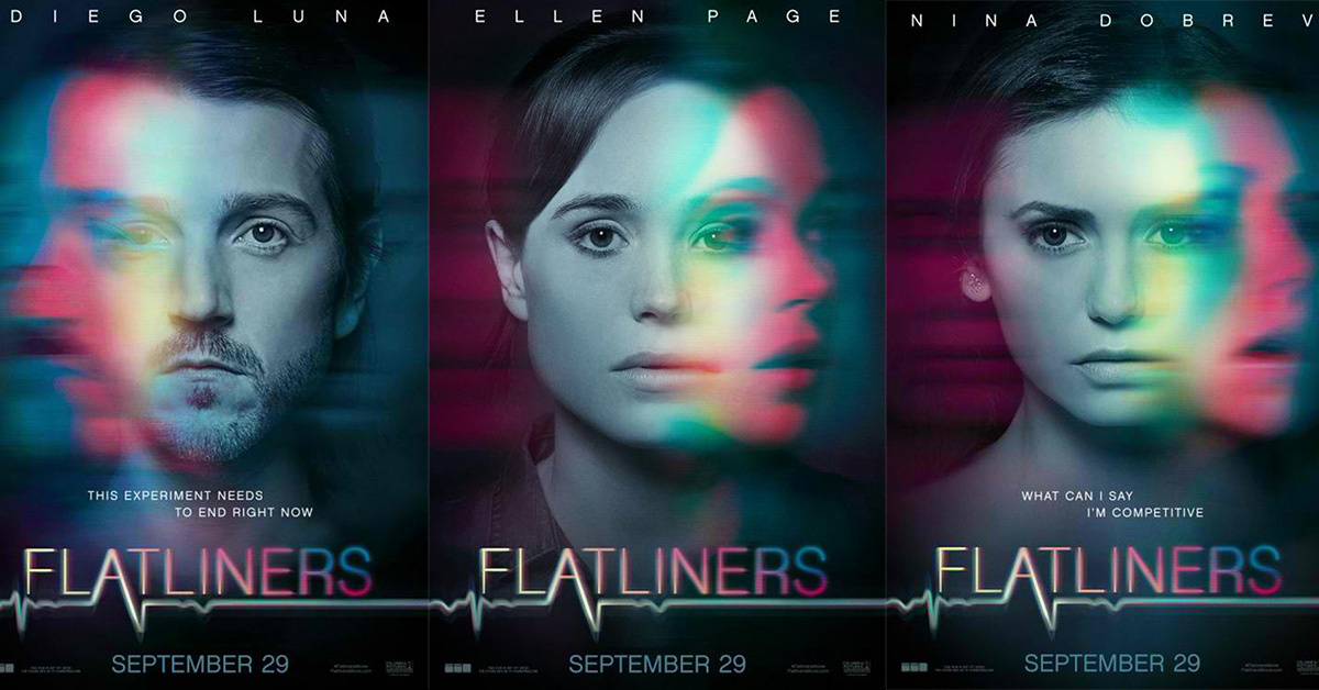 Flatliners, reviews, scary basement media