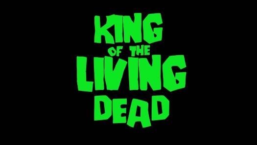 king of the living dead, enamel pin, george romero