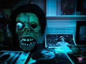 scary basement media, the myers house nc, halloween