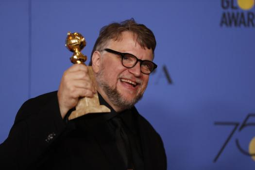 Guillermo Del toro, the shape of water, golden globes