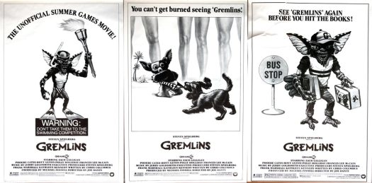 gremlins, poster, olympics