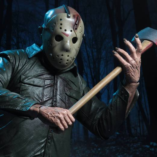 jason voorhees, friday the 13th, the final chapter, neca, toy fair, action figure, 1/4 scale