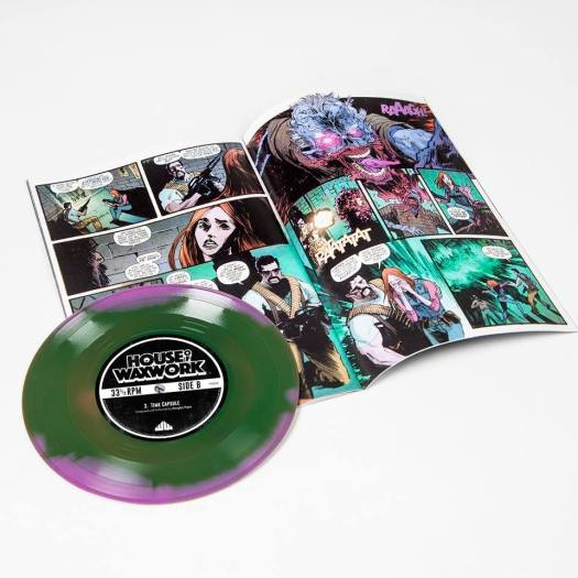waxwork comics, horror, waxwork records