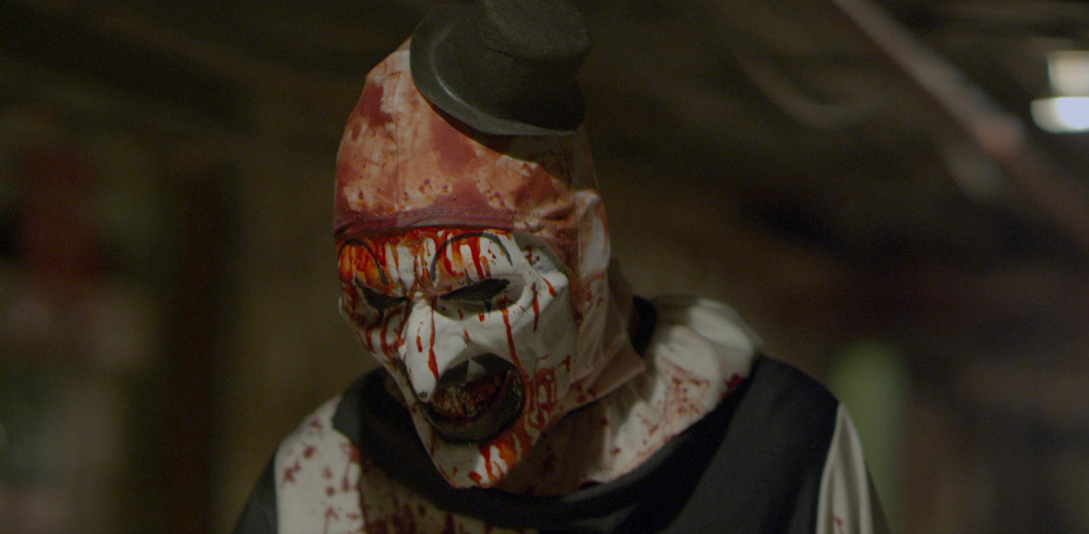 art the clown, dread central presents, terrifier, horror, slasher