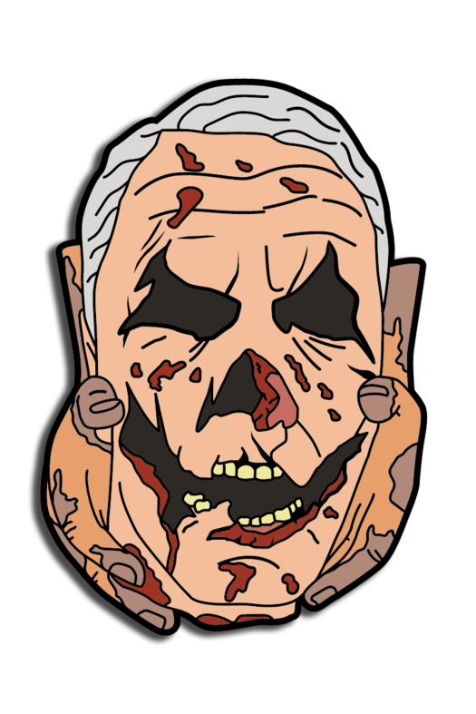 halloween, enamel pin, pin, horror