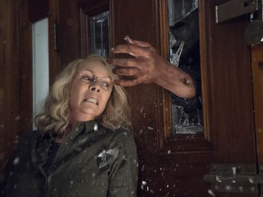 halloween, blumhouse, trailer, jamie lee curtis