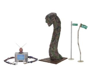 nightmare on elm street, freddy krueger, neca, toy, accessory set