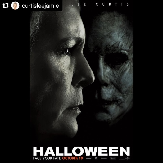 Halloween, trailer, 2018, John carpenter, Jamie Lee Curtis