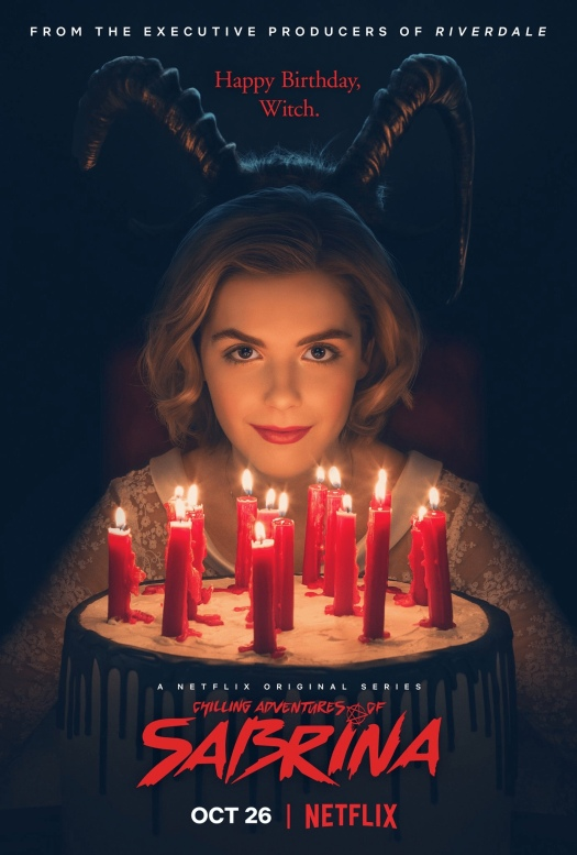 Sabrina, the chilling adventures of Sabrina, Netflix, trailer