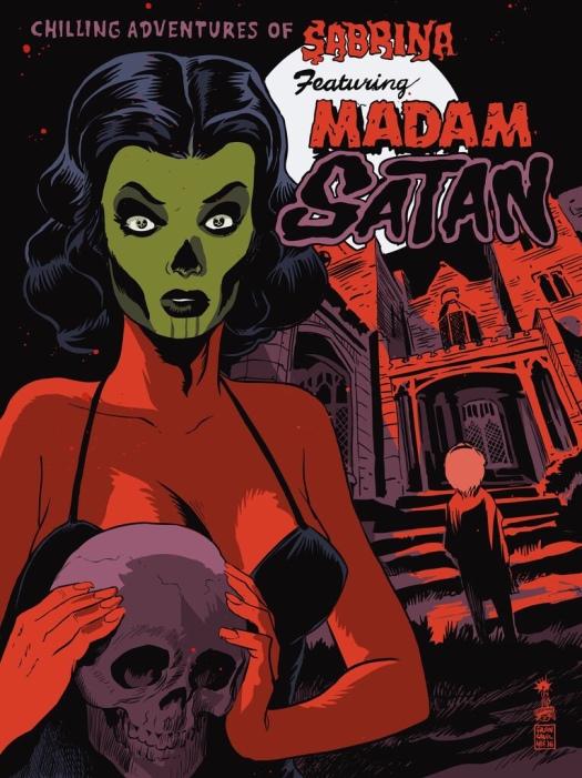 Sabrina, madam Satan, Netflix, series