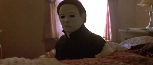 night prowler video, halloween, dreaming in neon, music blumhouse