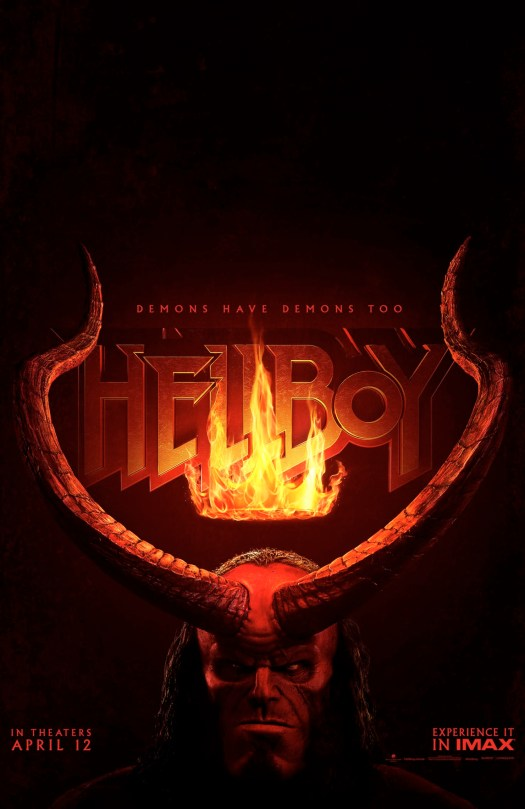 hellboy, david harbour, trailer, horror, movie, poster