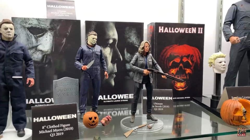 Halloween, 2018, toy fair, michael myers, laude strode