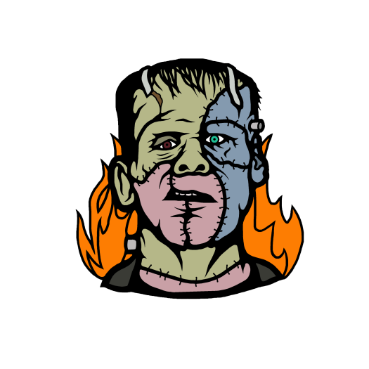 it's alive, enamel pin, horror pin, horror, frankenstein