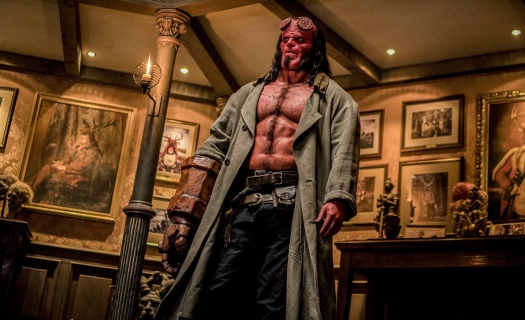HellBoy, trailer, David Harbour