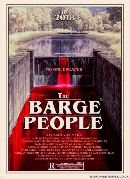 Charlie steeds, the Barge people, horror, uk, Kate Davies speak