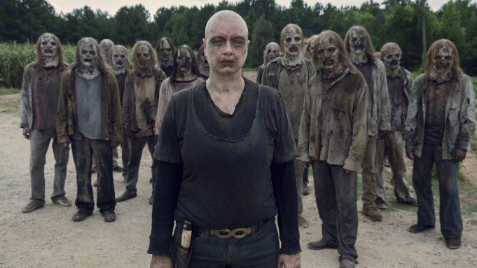 the walking dead, alpha, toy, zombie