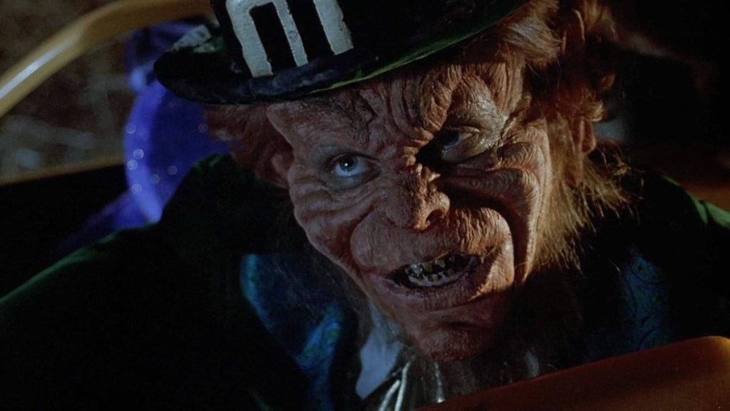 leprechaun, saint patricks day, movie, horror, tell it animated